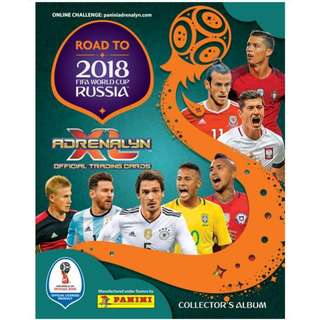 (補卡區)  Adreanlyn Road to 2018 FIFA World Cup Russia Trading Card