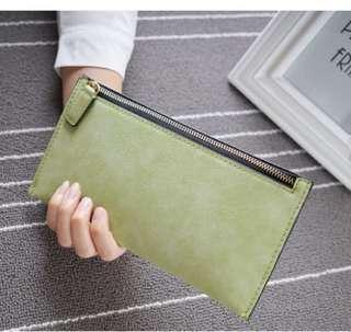 Slim Compact Wallet Travel Long Purse Clutch Ladies