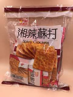 台灣直送 超人氣 福義軒 湘辣蘇打餅 340g