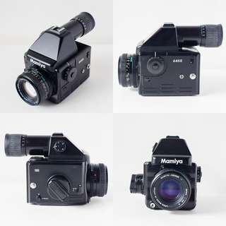 mamiya 645E + 80mm f2.8