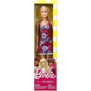 Barbie 12 inch doll with designer floral dress