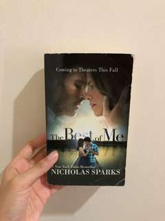 The Best of Me - Nicholas Sparks (in English)
