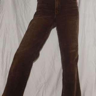 Vintage brown corduroy jeans