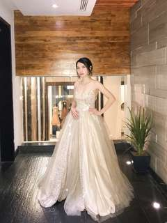 Custom made gown by Apartment 8 Clothing