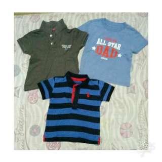 Polo Shirt for Boys Set 1-2 y.o