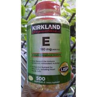 KIRKLAND VITAMIN E - 500 SOFTGELS