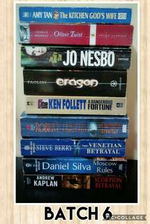 Second Hand Books (Batch 6)