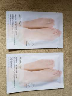 Innisfree Special Care Foot Mask - 2pcs