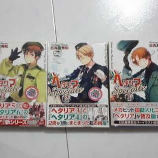 [CLEARANCE] APH hetalia speciale