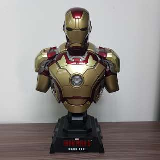 Iron Man Mark XLII (42) - 1/4th Scale Bust