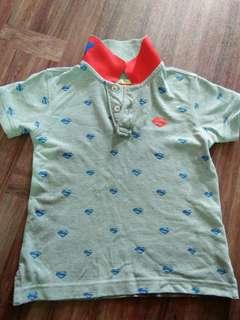 Original SUPERMAN collar shirt