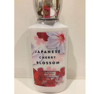 Japanese Cherry blossom body lotion - Bath and Body Works