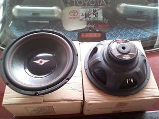 SUBWOOFER AUDIO QUARD 12 INCI