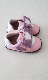 Pediped pink Baby Shoes size us 5-5.5