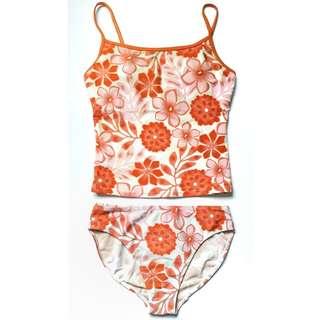 Freeway Floral Tankini 2-piece Swimsuit