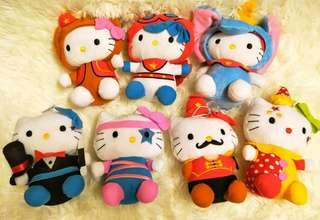 McDonald Hello Kitty Plush Toys