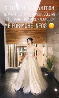 Gown made by Apartment 8 Clothing