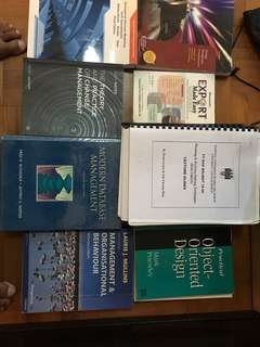 Management and finance books and study materials-Kaplan/UCD,Ireland