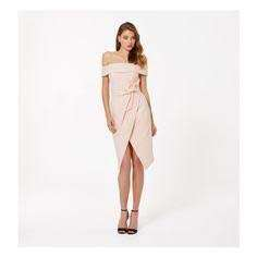 Forever new Bardot pink dress