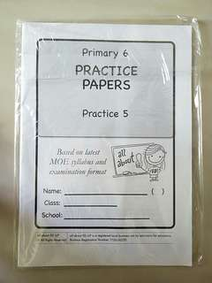 Primary 6 English Practice Papers