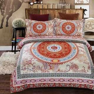 Bohemia style bedsheet