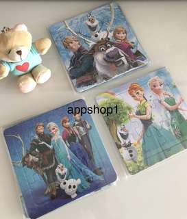 Frozen theme (puzzle) birthday goodies favors, goodie bag, goody bag packages, door gift