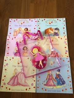 Set of 6 Princess Poppy Books