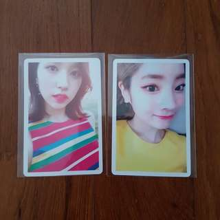 INSTOCK TWICE PHOTOCARDS