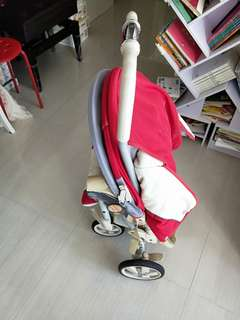 Baby stoller for selling. 80%new ,free cooling banboo sheet