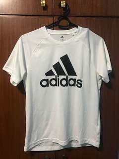 White adidas Short