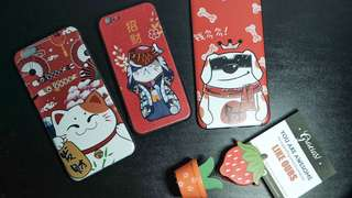 Lucky Dog and Cat Phone Case