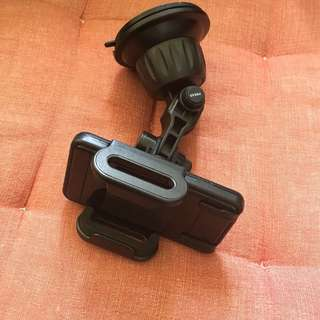 Windscreen handphone holder