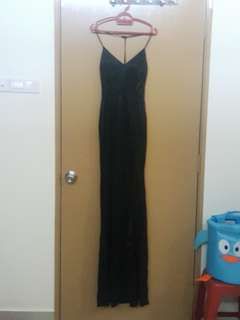 Long Black Gown/ Dress