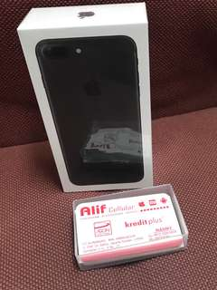 Iphone 7 plus kredit aeon/ cash