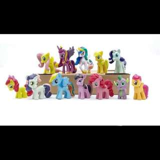 [FREE POSTAGE!] MY LITTLE PONY Figures / Figurines / Cake Toppers (Small Size)