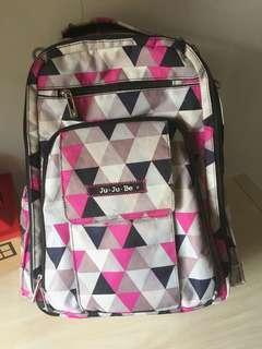 Used Jujube Pinky Swear BRB Diaper Bag