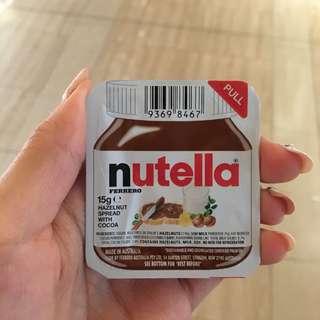 Nutella 朱古力榛子醬 迷你裝