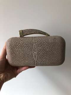Vince Camuto Horn Clutch 80% new, Bought in US