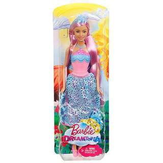 Barbie 12 inch with long hair and hairbrush you can brush her hair with