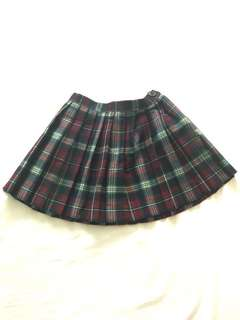Girl's Checkered Skirt 5-7 years old