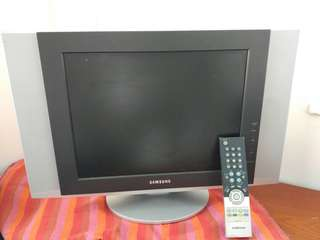 Samsung三星 15吋电視机連搖控