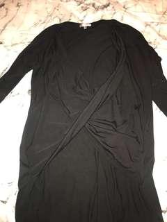Ladies L/S Black top