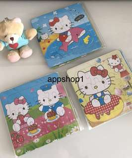 Hello kitty puzzle, goodie bag packages, children birthday goodies favors, goody bag