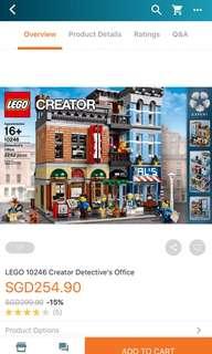 Lego 10246: Detective's Office