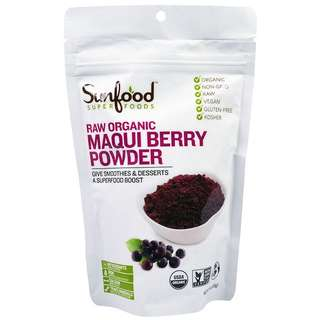 Raw Organic Maqui Berry Powder, 4 oz (113 g)