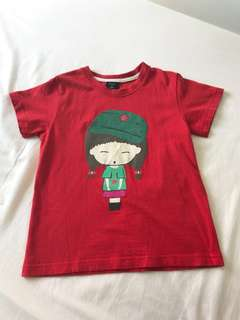 Kids Red Tee 4-6 years old