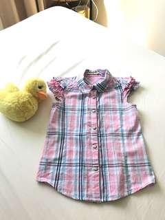Checkered shirt 5-7 years old