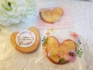 蝴蝶餅 回禮禮物 散水餅 cookies biscuits candy corner  百日宴 生日會