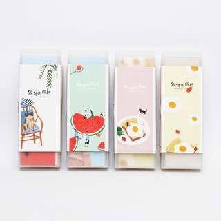 Unique Travel Bookmark Set And Pencil Case