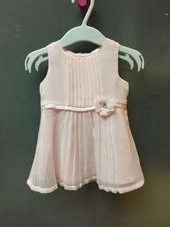 Carter's Rosette Chiffon Dress 3M